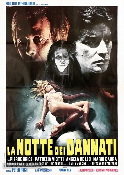 La notte dei dannati - Italian Movie Poster