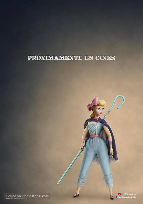 Toy Story 4 - Spanish Movie Poster