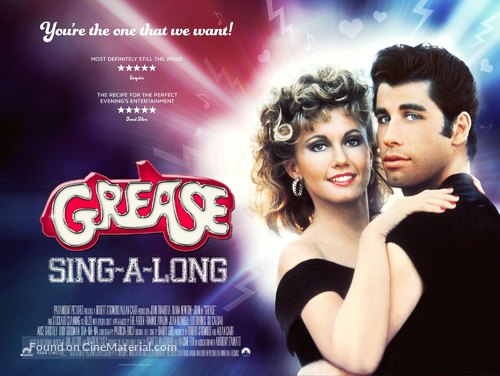 Grease - British Movie Poster
