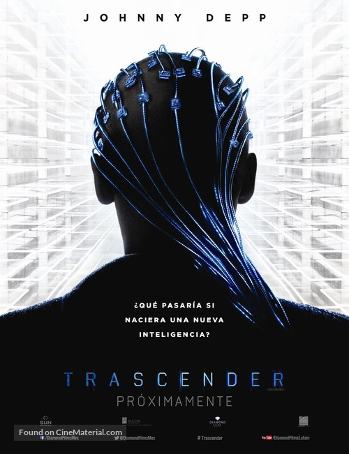 Transcendence - Mexican Movie Poster