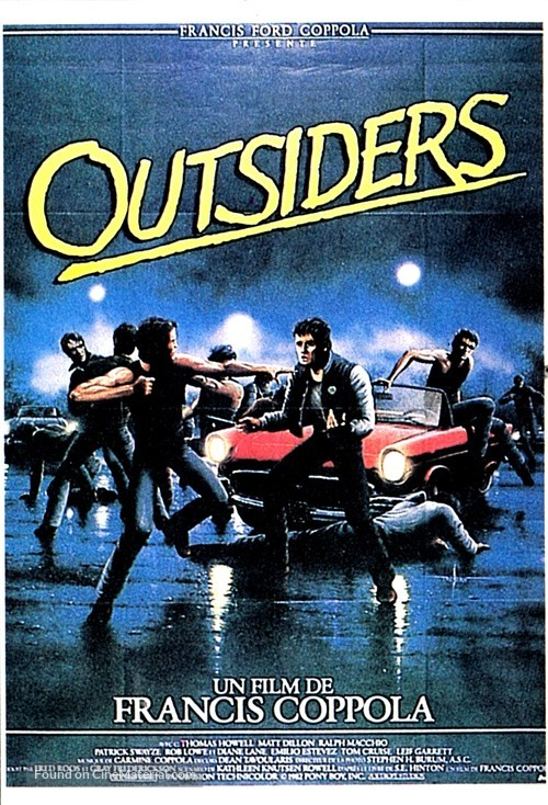 the outsiders french movie poster