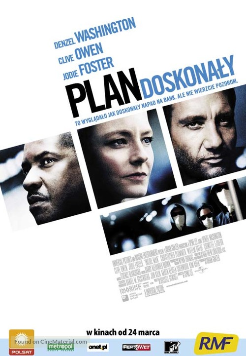 Inside Man - Polish Movie Poster