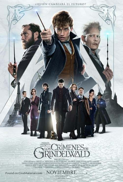 Fantastic Beasts: The Crimes of Grindelwald - Argentinian Movie Poster