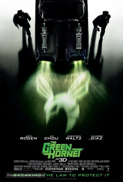 The Green Hornet - Movie Poster