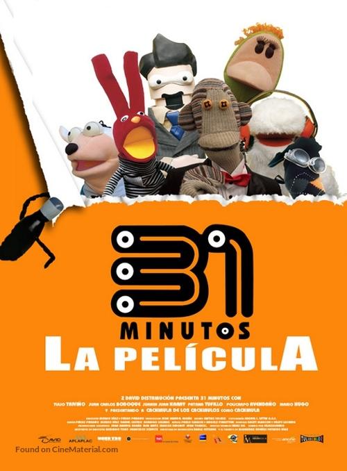 31 minutos, la película - Mexican Movie Poster