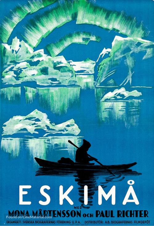 Eskimo - Swedish Movie Poster