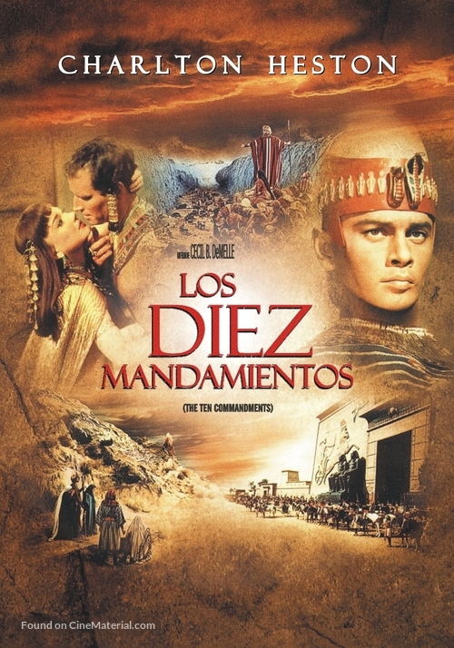 The Ten Commandments - Argentinian Movie Poster