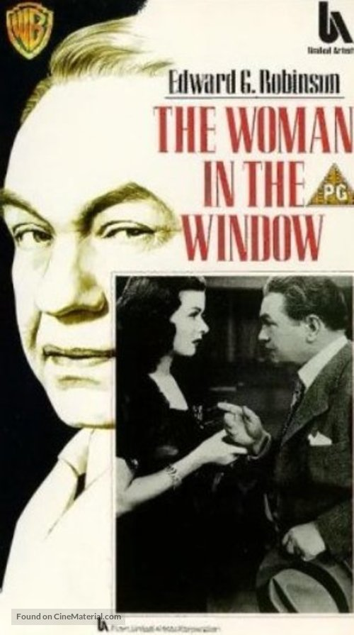 The Woman in the Window - British VHS cover