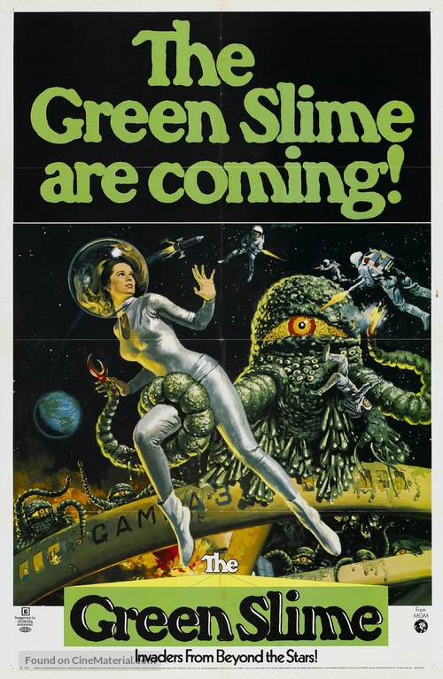 The Green Slime - Movie Poster