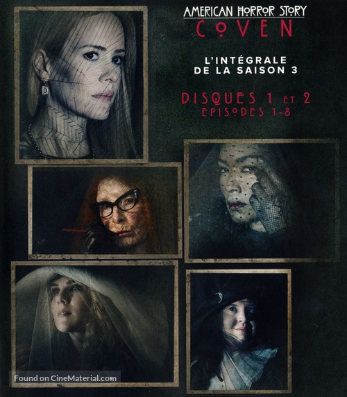 """American Horror Story"" - French Blu-Ray movie cover"