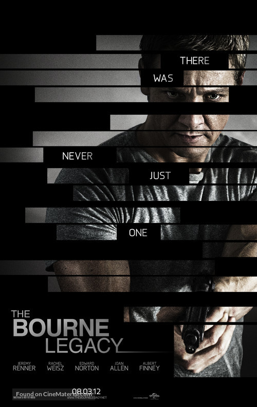 The Bourne Legacy - Movie Poster
