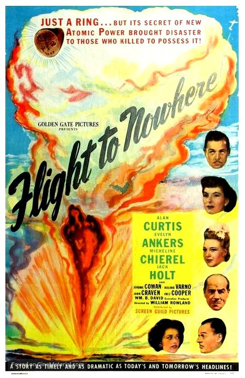 Flight to Nowhere - Movie Poster