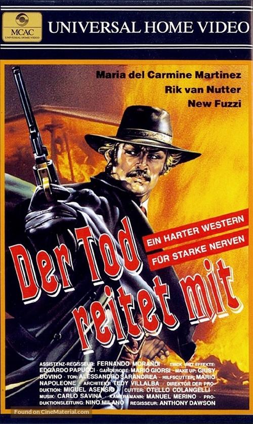 Joe l'implacabile - German VHS cover