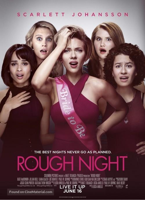 Rough Night - Movie Poster