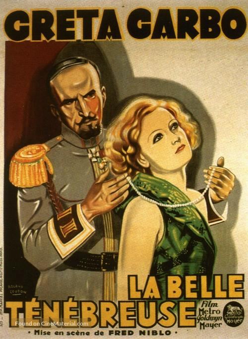 The Mysterious Lady - French Movie Poster