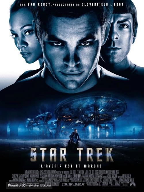 Star Trek - French Movie Poster