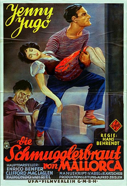 Die Schmugglerbraut von Mallorca - German Movie Poster