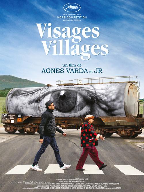 Visages, villages - Belgian Movie Poster