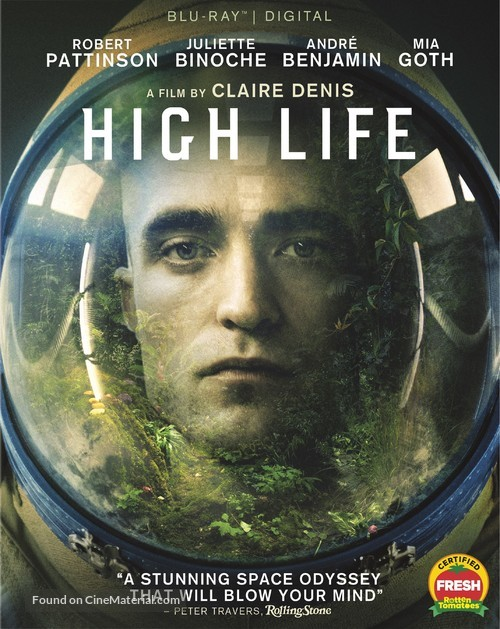 High Life - Blu-Ray movie cover