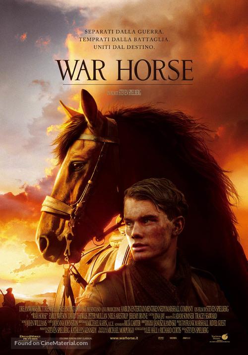War Horse - Italian Movie Poster