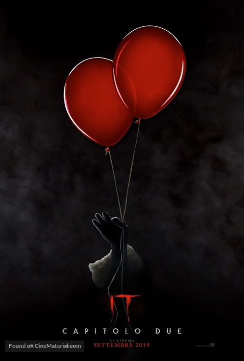 It: Chapter Two - Italian Movie Poster