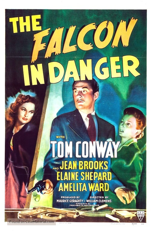 The Falcon in Danger - Movie Poster