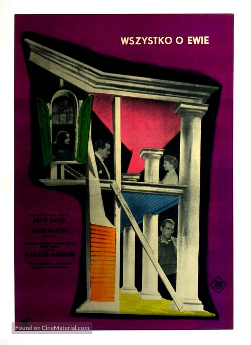 All About Eve - Polish Movie Poster