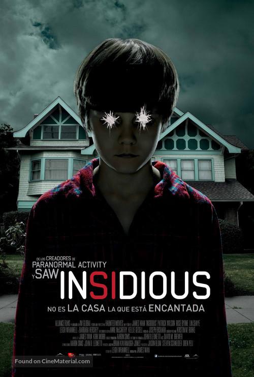 Insidious - Spanish Movie Poster