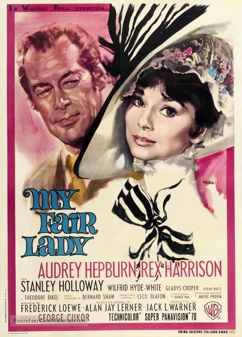 My Fair Lady - Italian Movie Poster