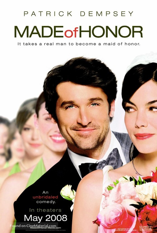 Made of Honor - Teaser movie poster