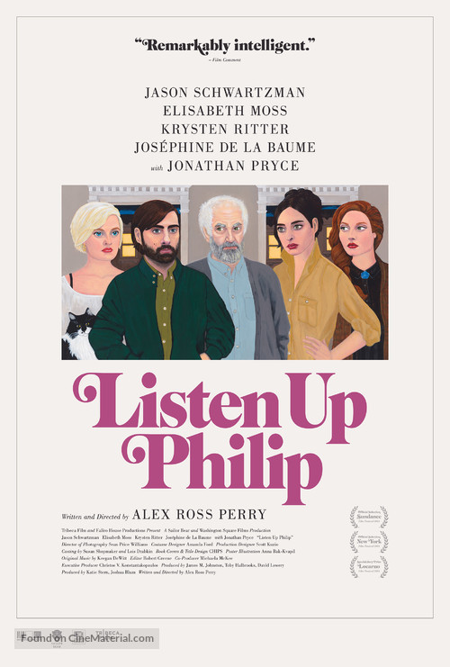 Listen Up Philip - Movie Poster