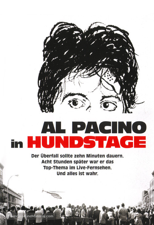 Dog Day Afternoon - German Movie Cover