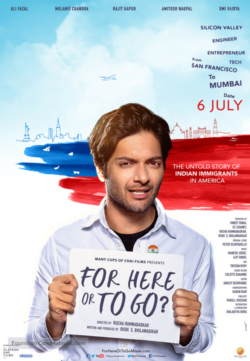 For Here or to Go? - Indian Movie Poster