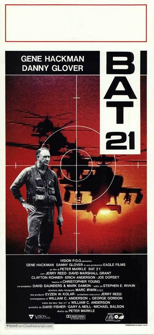 Bat*21 - Italian Movie Poster