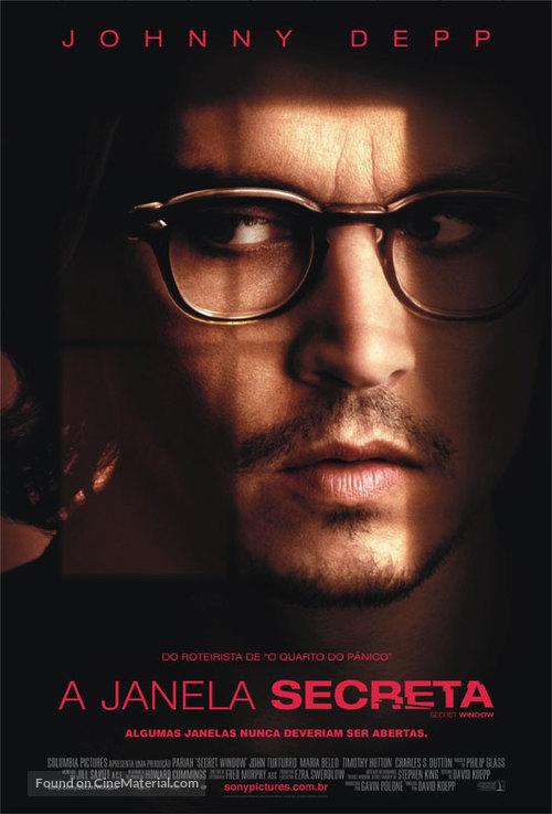 Secret Window - Portuguese Movie Poster