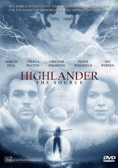 Highlander: The Source - DVD cover