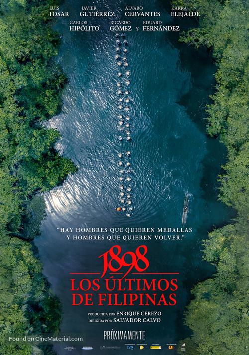 1898. Los últimos de Filipinas - Spanish Movie Poster