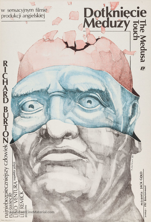 The Medusa Touch - Polish Movie Poster