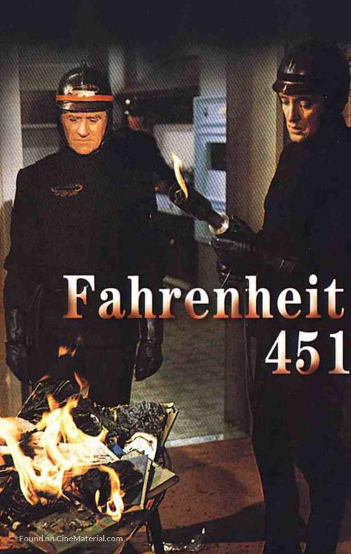 Fahrenheit 451 - German Movie Cover