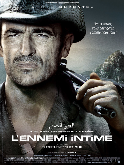 L'ennemi intime - French Movie Poster