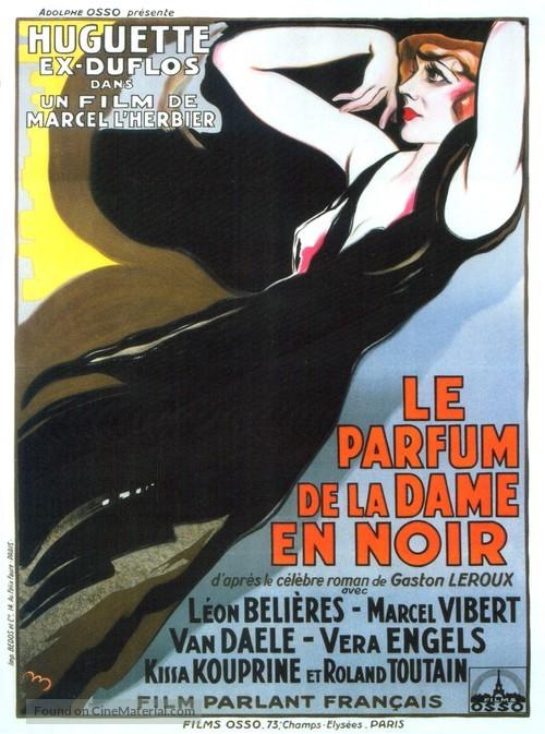 Le parfum de la dame en noir - French Movie Poster