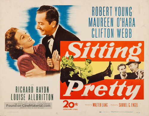 Sitting Pretty - Movie Poster