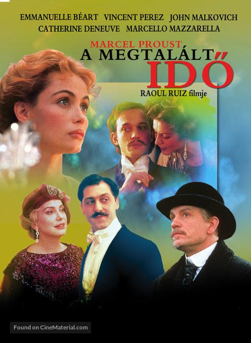 Temps retrouvé, d'après l'oeuvre de Marcel Proust, Le - Hungarian Movie Poster