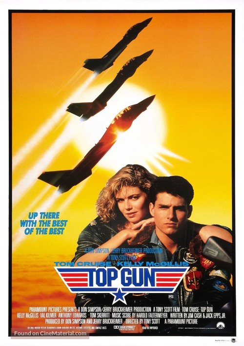 Top Gun - Australian Movie Poster