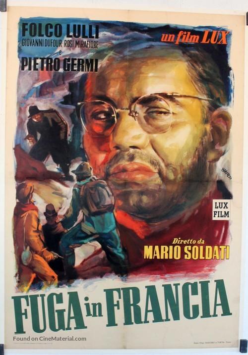 Fuga in Francia - Italian Movie Poster