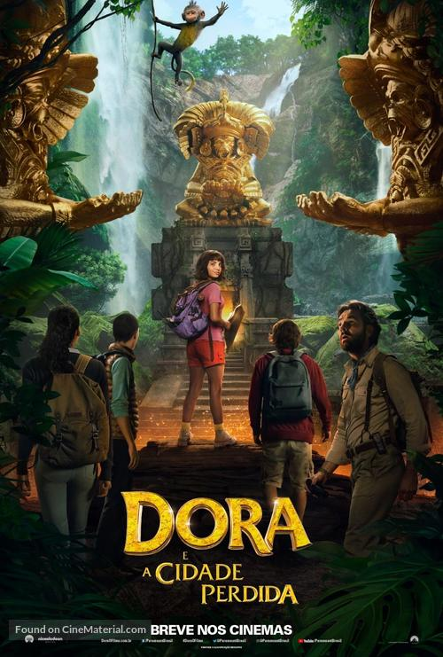 Dora and the Lost City of Gold - Brazilian Movie Poster