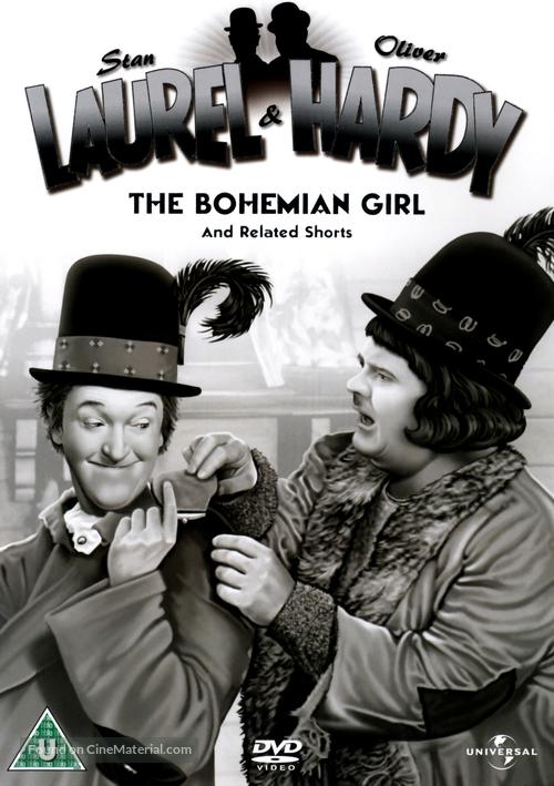 The Bohemian Girl - British DVD movie cover