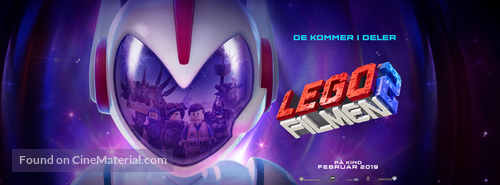The Lego Movie 2: The Second Part - Norwegian poster