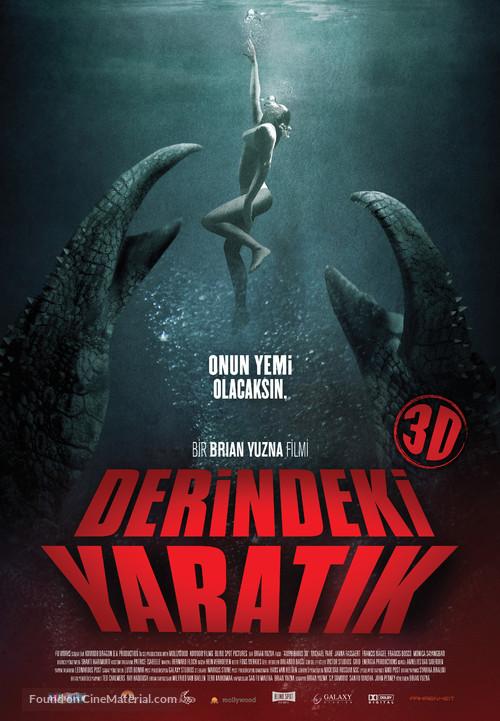 Amphibious 3D - Turkish Movie Poster