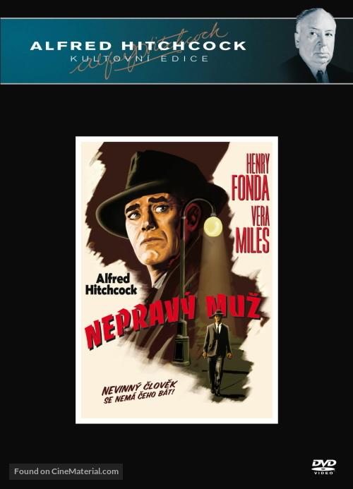The Wrong Man - Czech DVD cover